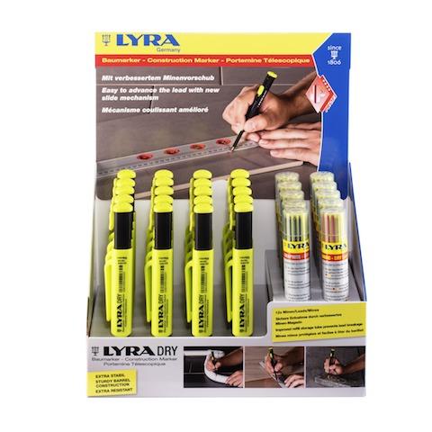 Mätverktyg LYRA DRY PROFI DISPLAY