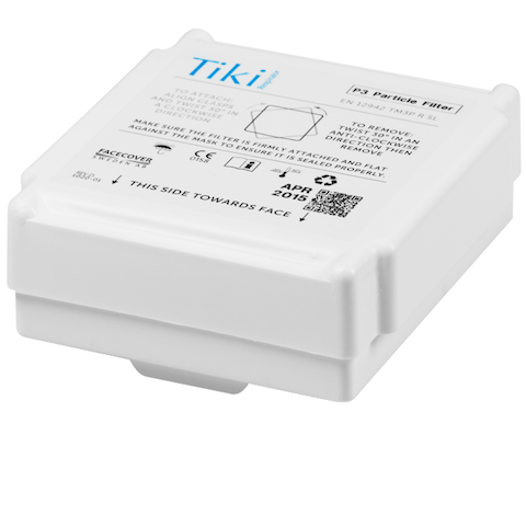Mätverktyg TIKI P3 FILTER 2-PACK