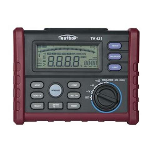 Mätverktyg ISOLATIONSTESTARE TV431